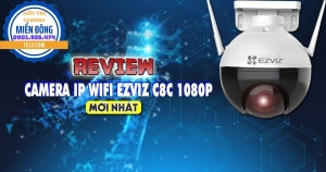 Review Camera IP Wifi Ezviz C8C 1080P