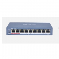 SWITCH PoE HIKVISION DS-3E0109P-E(C) 8 PORT