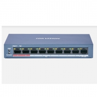 SWITCH PoE HIKVISION DS-3E0109P-E/M (B) 8 PORT