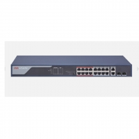 SWITCH PoE HIKVISION DS-3E0318P-E(B) 16 PORT