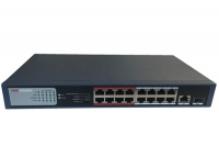 SWITCH PoE HIKVISION DS-3E0318P-E/M 16 PORT
