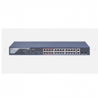 SWITCH PoE HIKVISION DS-3E0326P-E(B) 24 PORT
