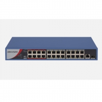 SWITCH PoE HIKVISION DS-3E0326P-E/M(B) 24 PORT